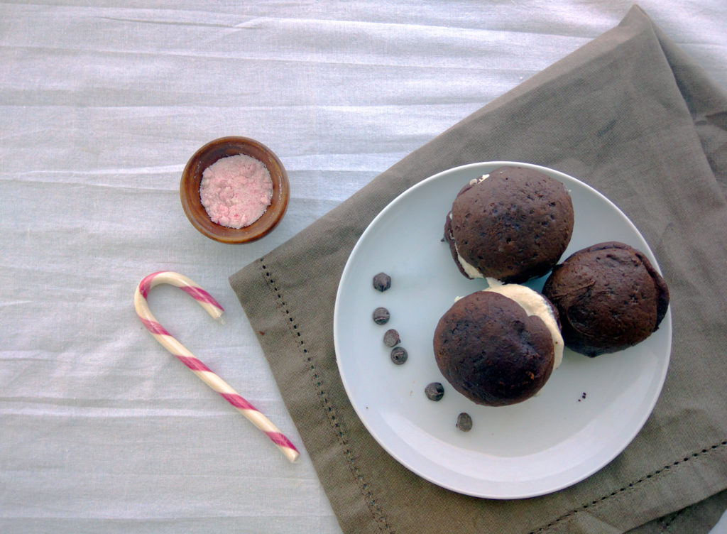 overhead vegan whoopie pie recipe