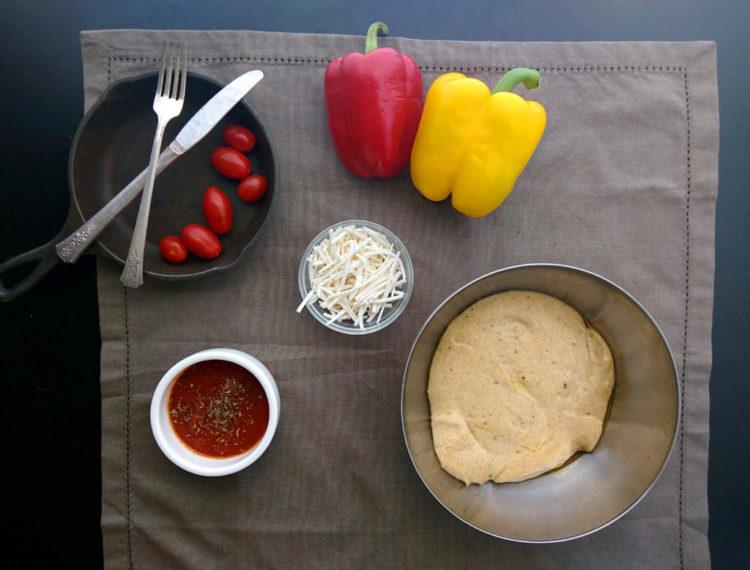 vegan pizza crust recipe ingredients