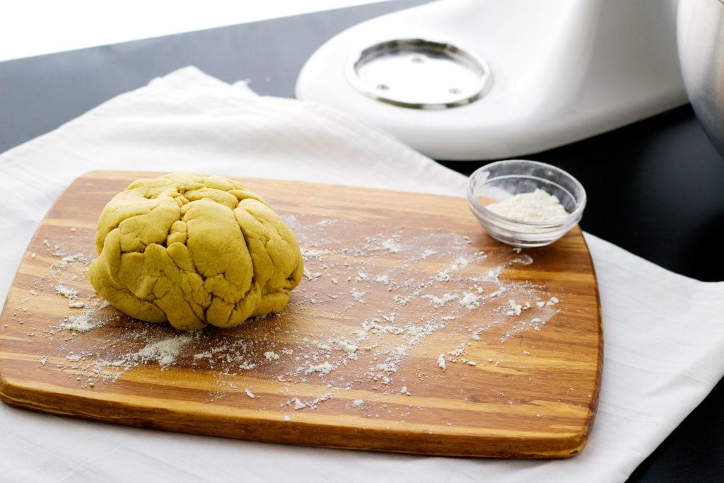 homemade vegan pasta dough