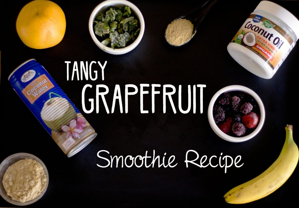 tangy grapefruit smoothie recipe