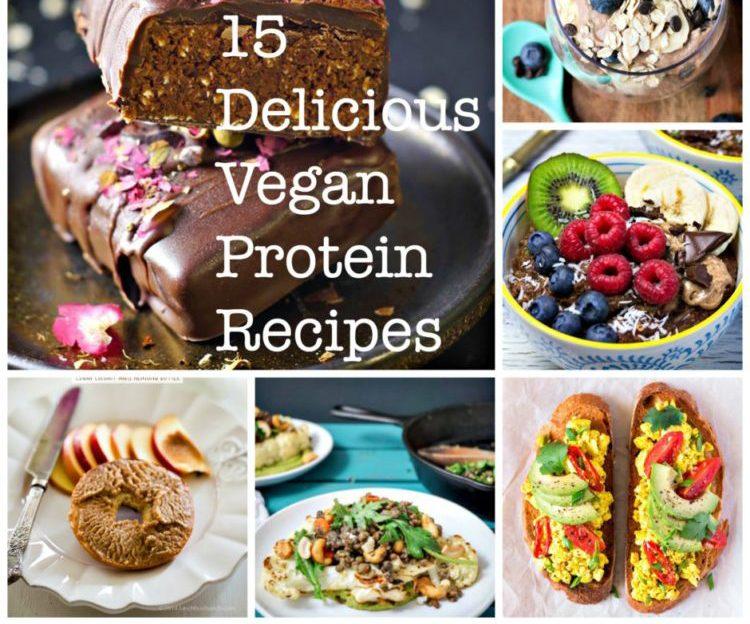 15 vegan protein recipes