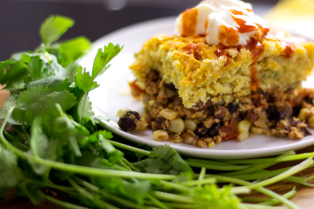 vegan tamale pie with jalapeno cornbread recipe