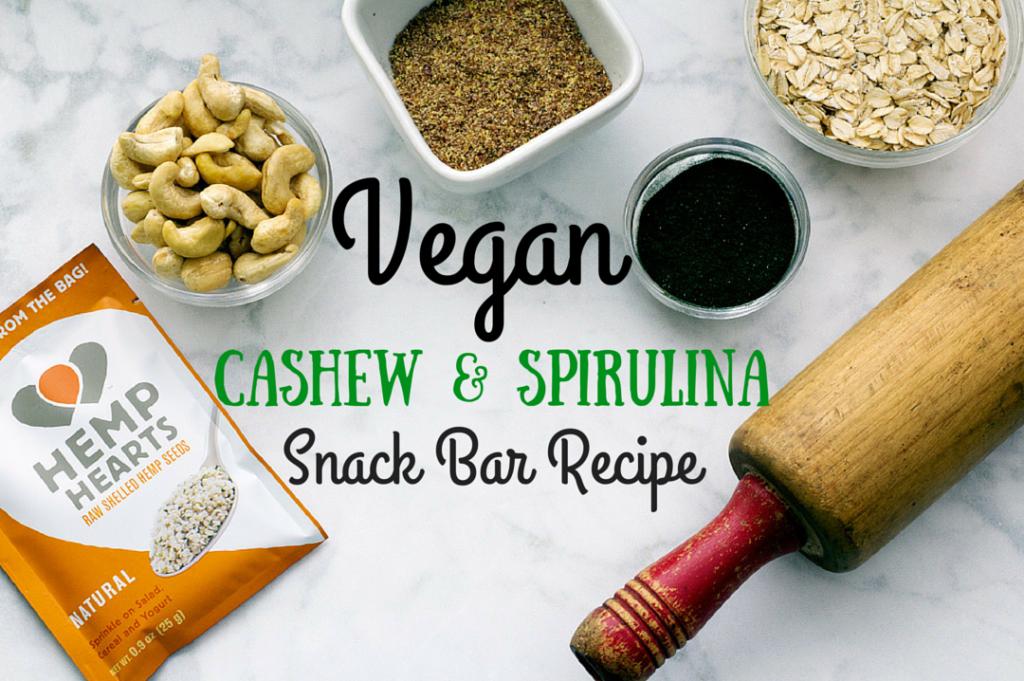 vegan protein bar recipe image