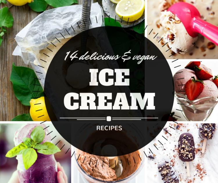 14 delicious and vegan ice cream recipes