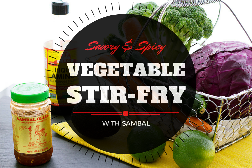 vegetable stir fry recipe with sambal