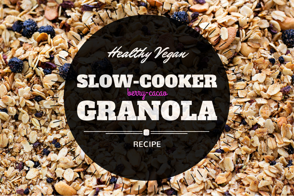 vegan slow cooker granola