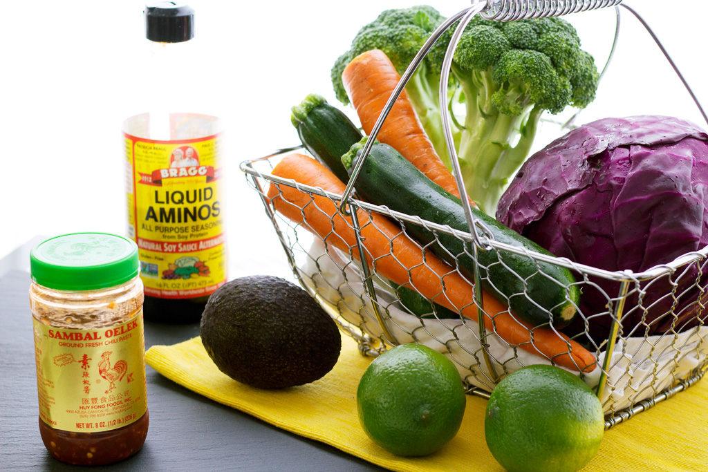 ingredients for vegetable stir fry recipe