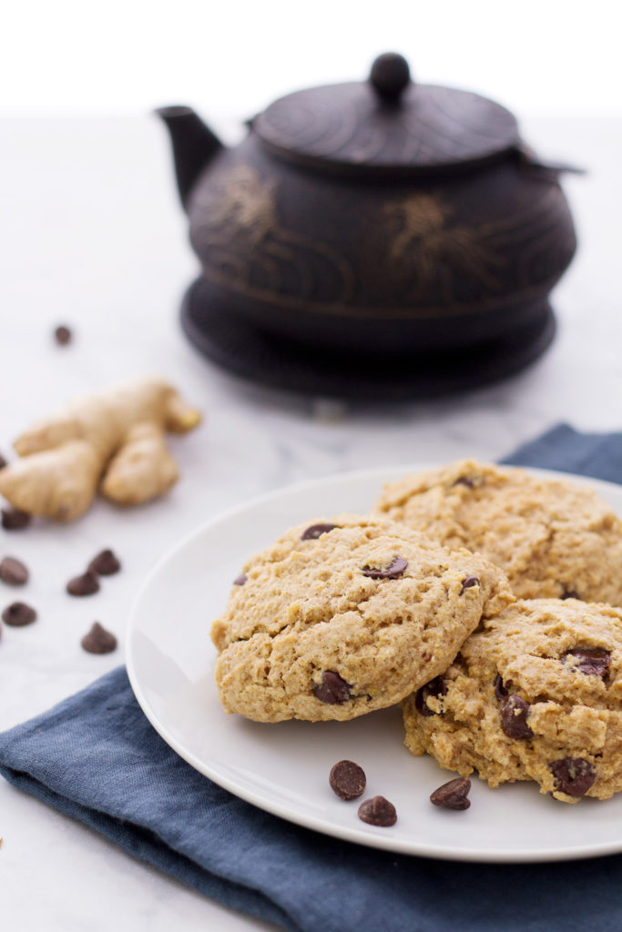 ginger chocolate vegan scone recipe