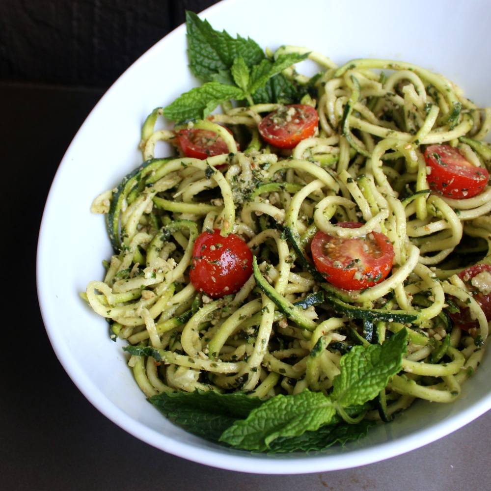 pesto-zoodles