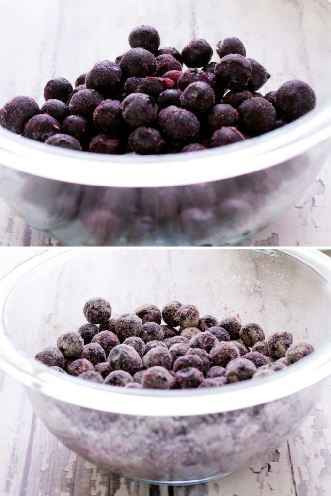 blueberries before and after