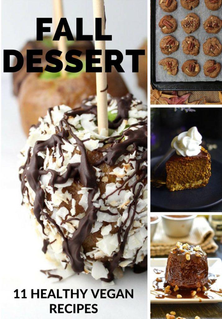 11 healthy vegan fall dessert recipes