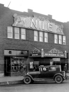 vintage nile theater in downtown mesa