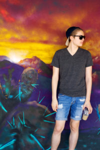 Cameron Modeling in Downtown Mesa