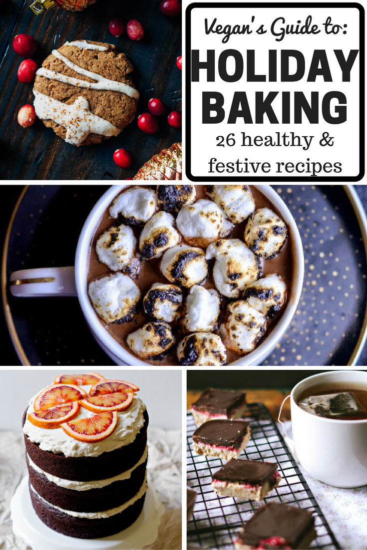 vegan's guide to healthy holiday baking