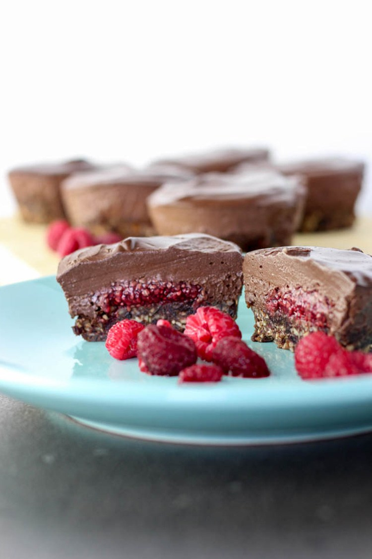 chocolate-raspberry-cheesecake