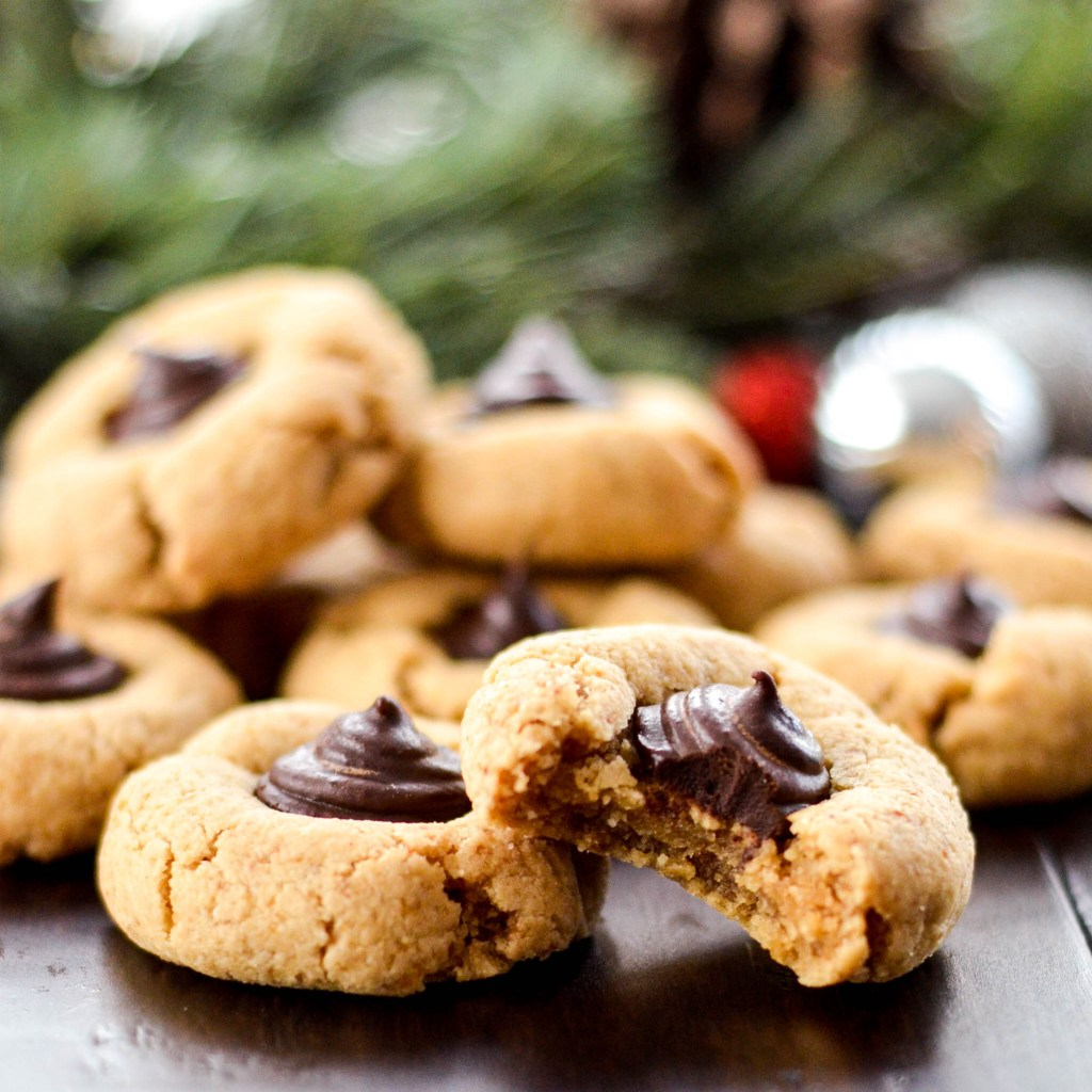 almond butter blossom cookies