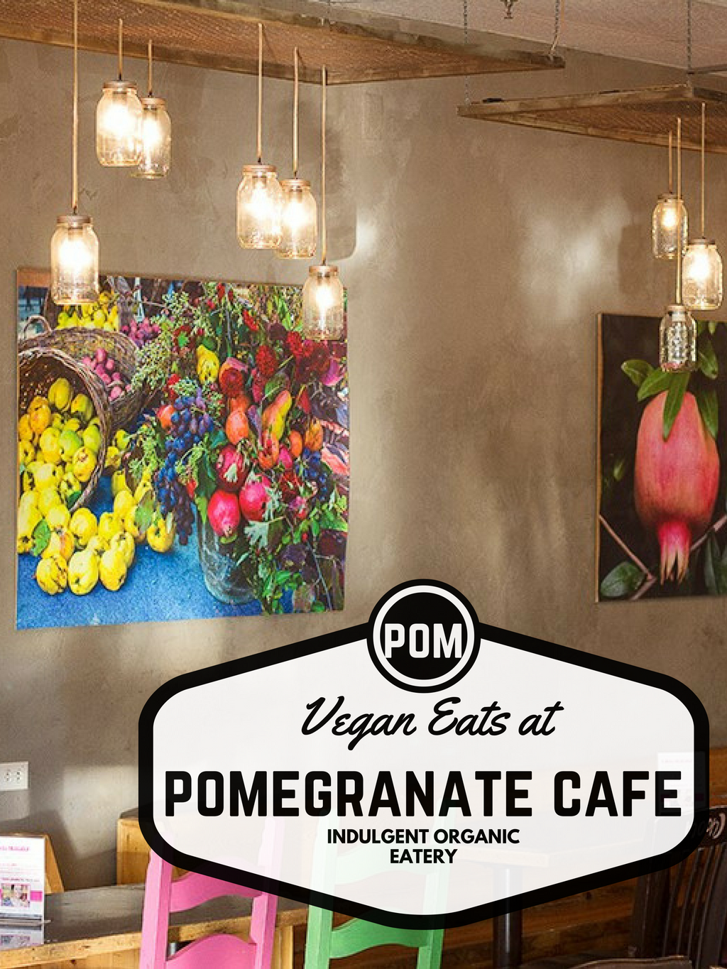 VEGAN eats at pomegranate cafe in phoenix arizona
