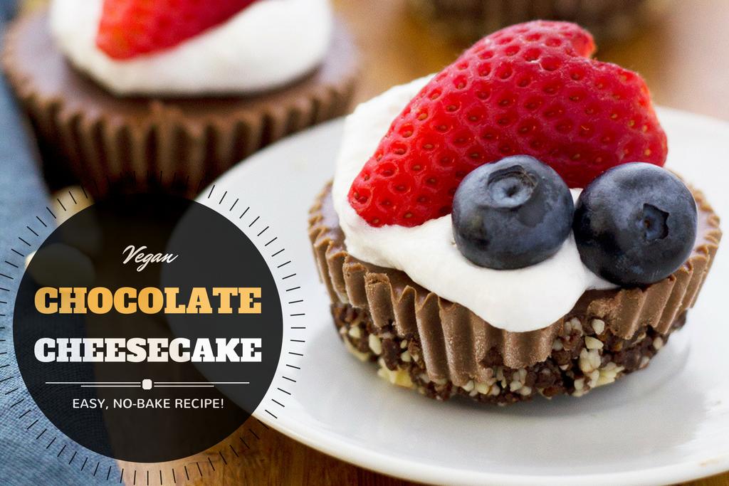 recipe: vegan chocolate cheesecake [35]