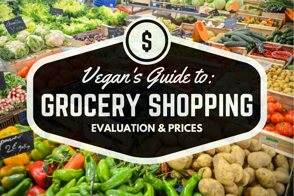 Vegan's guide to grocery shopping! Comparing Sprouts, Natural Grocers, Whole Foods, and Thrive with an evaluation and price comparison! Now there's no worry about finding your perfect vegan grocery store!