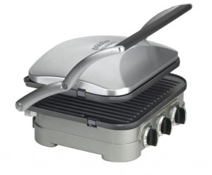 Cuisinart 5 -in - 1 griddle, panini, waffle, grill, press!