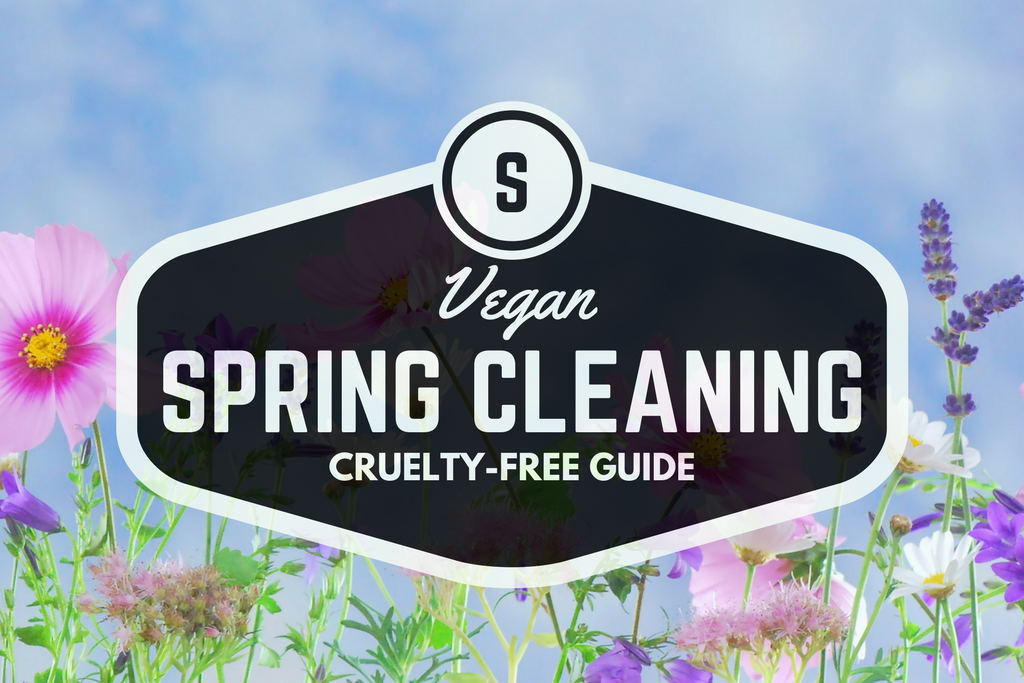 SPRING VEGAN CLEANING SUPPLIES. Cruelty-free, zero waste, vegan, and eco-friendly products for a beautiful sparkling home.