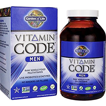Garden of Life RAW Vitamin Code multivitamin