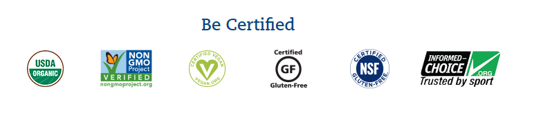 Garden of Life vegan certification