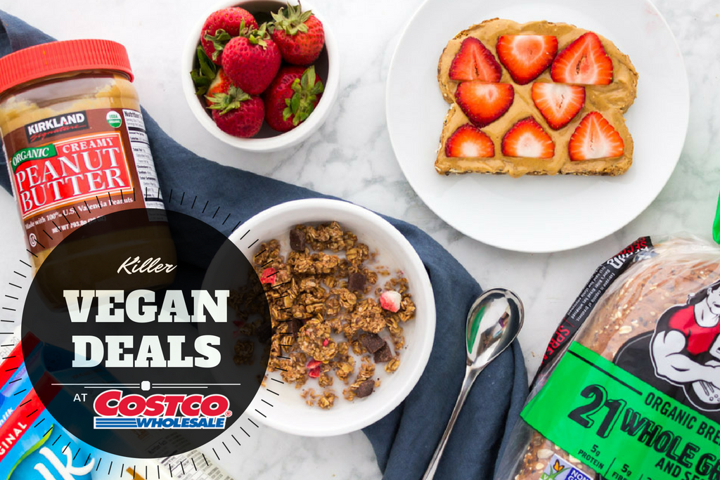 Killer vegan deals at costco (breakfast edition!)
