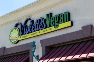 Violette's vegan las vegas