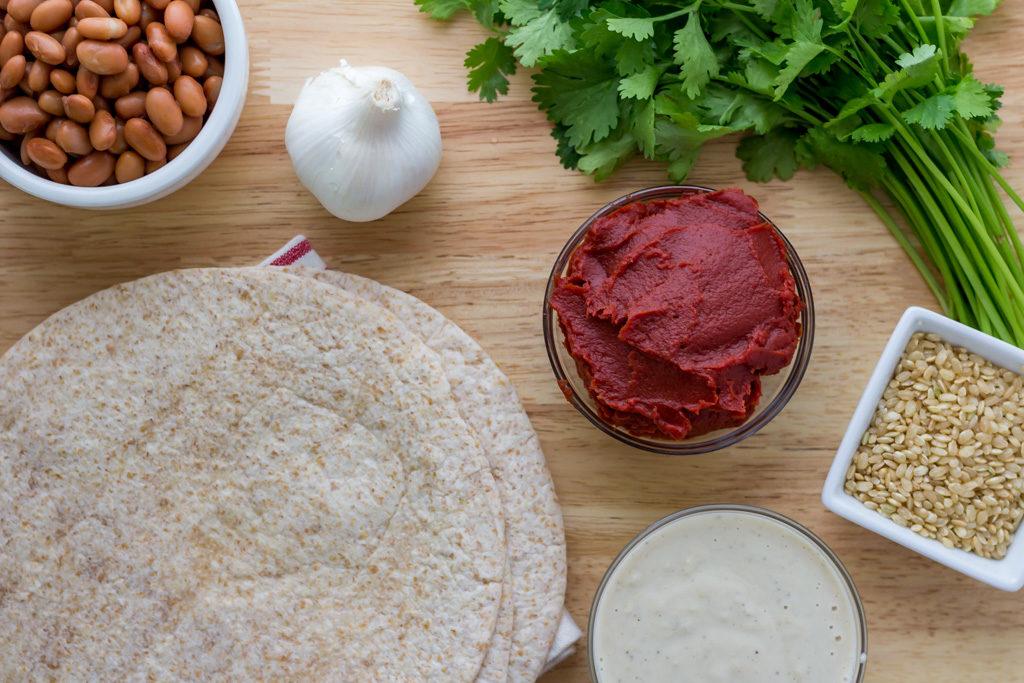 Easy vegan enchilada recipe from scratch ingredients