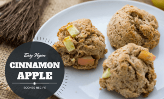 Cinnamon Apple Scones Title