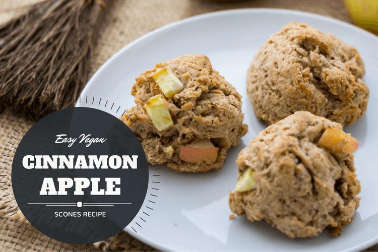 Cinnamon Apple Scones Title