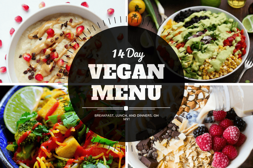 2 week vegan menu serving realness breakfast lunch dinner and snack ideas for everyone forumfinder Image collections