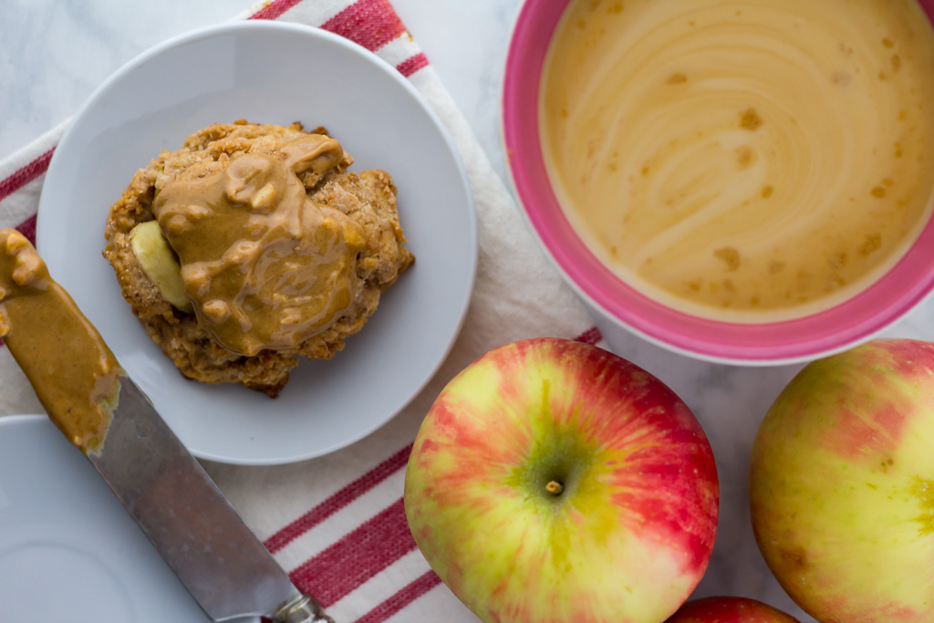apple cinnamon scones recipe with peanut butter