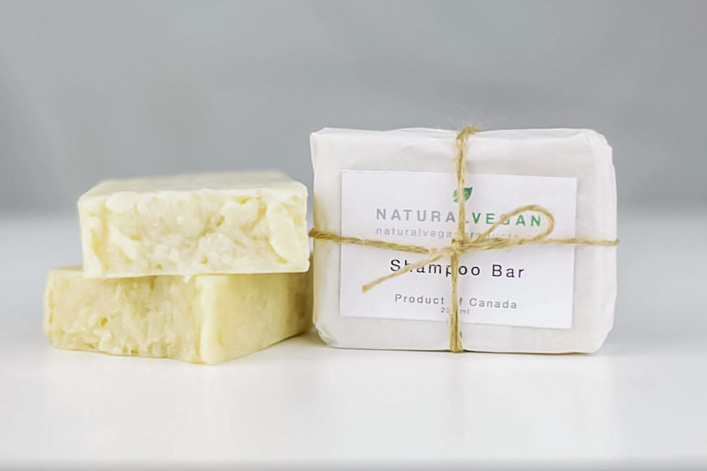 Natural vegan products soap