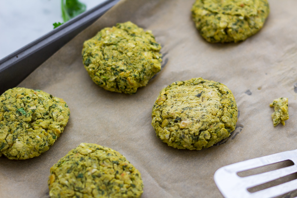 easy vegan baked falafel recipe